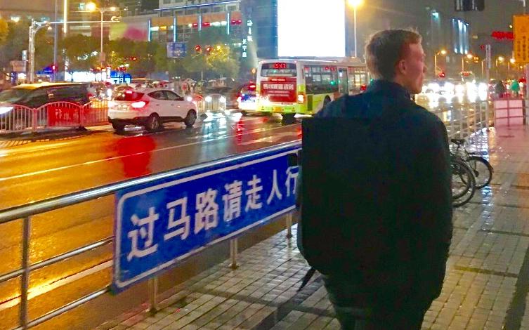 Shanghai, London og så hjem igen